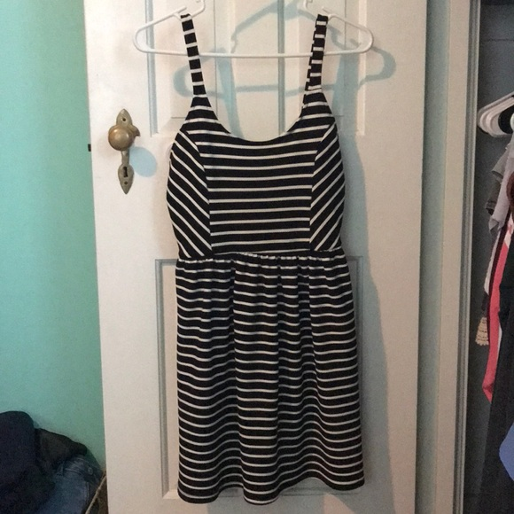 Francesca's Collections Dresses & Skirts - Black and white striped dress